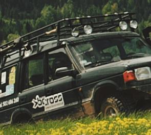 Jazda samochodami terenowymi Offroad BC CROSS