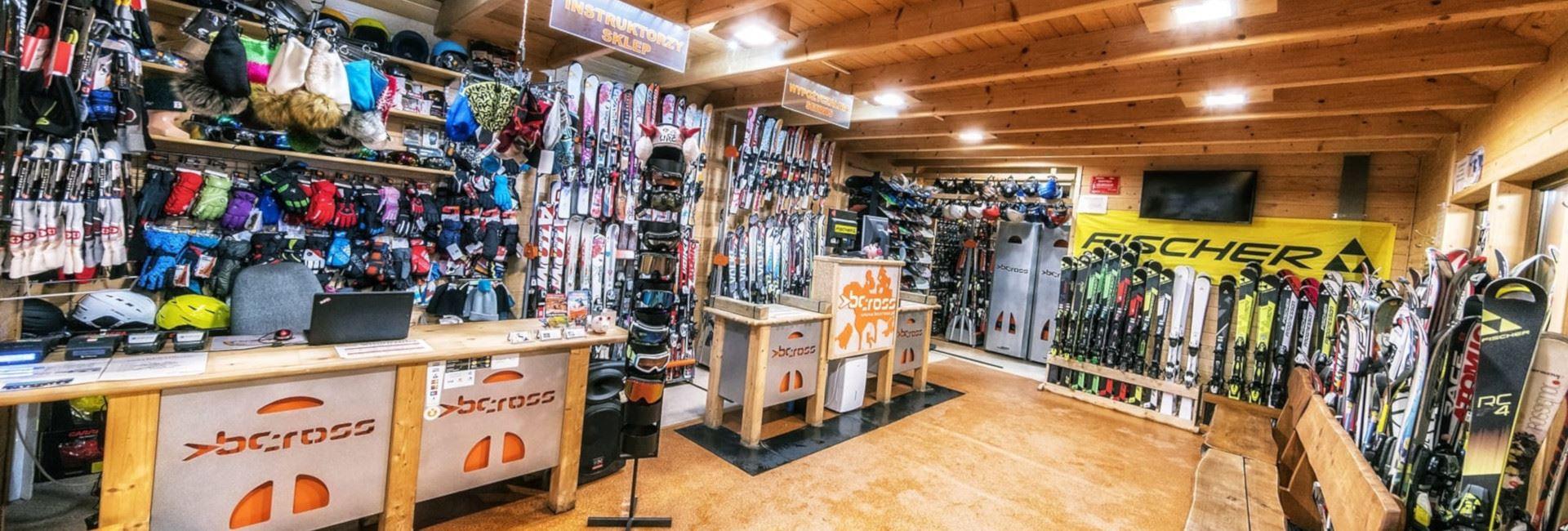 Wypożyczalnia sprzętu narciarskiego